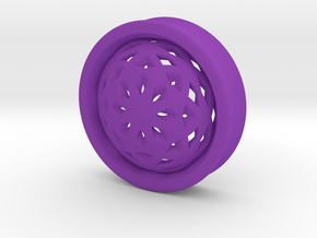 VORTEX2-40mm in Purple Strong & Flexible Polished