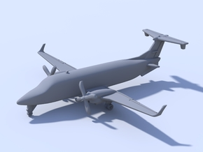 1:500 - Beechcraft_1900D [Assembled] in Frosted Ultra Detail