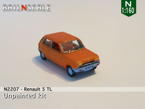 Renault 5 TL (N 1:160) in Frosted Ultra Detail
