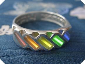 US14 Ring XVII: Tritium in Polished Silver