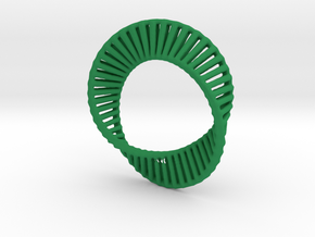 Marching Mobius Squares in Green Strong & Flexible Polished