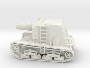 M133 Self-propelled Siege Mortar (Wk6 based) in White Strong & Flexible