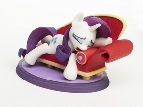 Mane Six #3 - Rarity in Full Color Sandstone