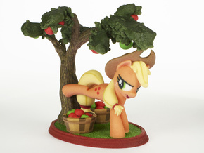 Mane Six #1 - Applejack in Full Color Sandstone