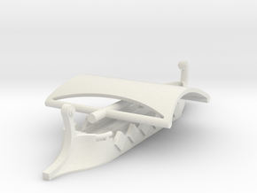 1/1000 Trireme (2 piece) in White Strong & Flexible