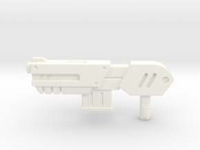 Transformers CHUG Shotgun in White Strong & Flexible Polished