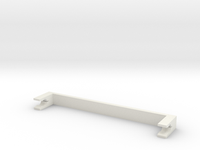 Cord Lock  in White Strong & Flexible