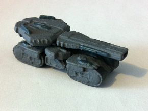 Siege Tank in White Strong & Flexible