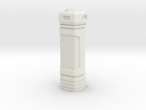 Tower Block 3 in White Strong & Flexible