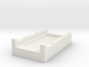 DNA 40 CHIP MOUNT / CRADLE SMALL SCREEN in White Strong & Flexible