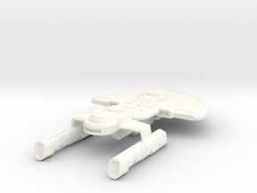 USS Germaine in White Strong & Flexible Polished