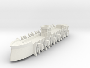 1/1000 Galleon Airship in White Strong & Flexible