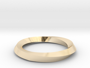 Mobius Wedding Ring-Size 5, multiple sizes listed in 14K Gold