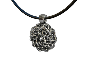 PERLA Pendant in Polished Silver