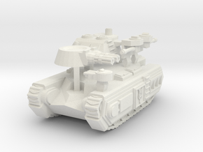 'Avalon' Superheavy Infantry Assault Vehicle 6mm s in White Strong & Flexible