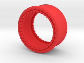 VORTEX8-20mm in Red Strong & Flexible Polished