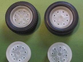Seat 124FU rim pack 1/24 in Frosted Ultra Detail