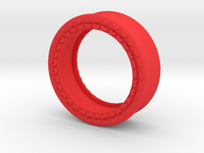 VORTEX8-31mm in Red Strong & Flexible Polished