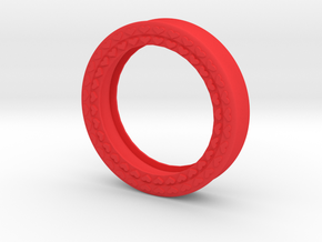 VORTEX8-50mm in Red Strong & Flexible Polished