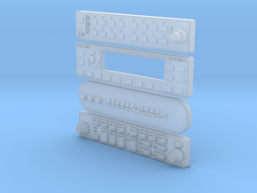 RADIOS 1:6 scale  in Frosted Ultra Detail