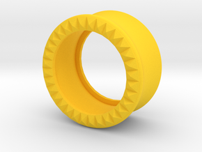 VORTEX9-20mm in Yellow Strong & Flexible Polished