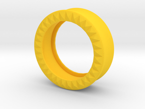 VORTEX9-31mm in Yellow Strong & Flexible Polished