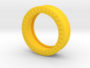 VORTEX9-35mm in Yellow Strong & Flexible Polished