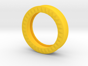 VORTEX9-43mm in Yellow Strong & Flexible Polished