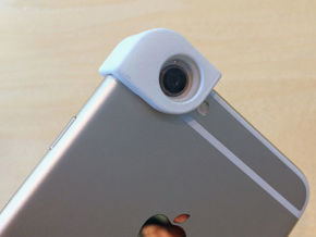 iPhone 6 & iPhone 6+ Macro Lens (11mm lenses) in White Strong & Flexible Polished