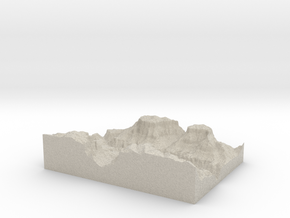 Model of Colorado River in Sandstone