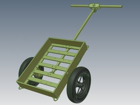 1-16 M3A4 Handcart in White Strong & Flexible