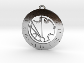 Frederick - Pendant in Polished Silver