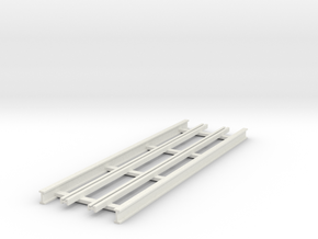 R-165-straight-bridgetrack-long-plus-1a in White Strong & Flexible