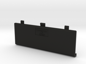 Futaba 3UCP Battery Cover in Black Strong & Flexible