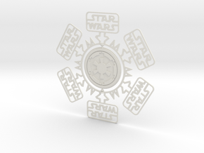 SW Snowflake in White Strong & Flexible