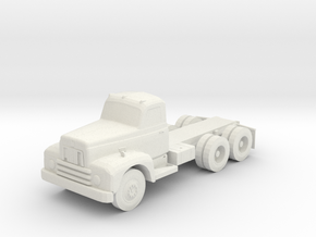 IH International Harvester Cab and Chasis truck 1/ in White Strong & Flexible