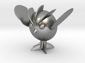 Avocaowl in Raw Silver