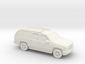 1/87 2000 Chevrolet Suburban  in White Strong & Flexible