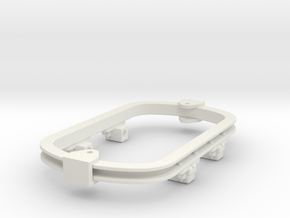 1:35 or Gn15 small skip underframe grease axlebox in White Strong & Flexible