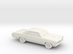 1/87 1965 Pontiac GTO in White Strong & Flexible