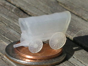 Covered Wagon (Z-Scale) in Frosted Ultra Detail