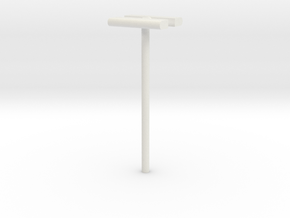 1/160 - DSB Stations lampe (dobbelt) (VIA) in White Strong & Flexible
