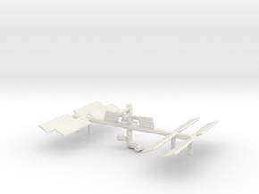 Space Station 3DP in White Strong & Flexible