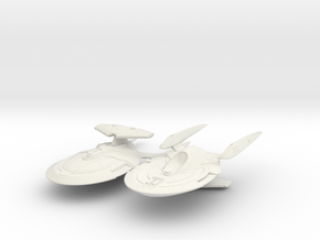 2 Wolf Class Cruiser in White Strong & Flexible