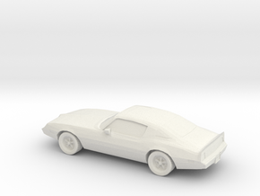 1/87 1979 Pontiac Trans Am  in White Strong & Flexible