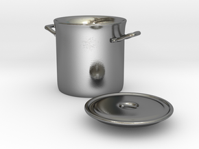 Stockpot 1/12 in Polished Silver
