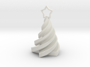 Starstruck Holiday Ornament from Carla Diana in White Strong & Flexible