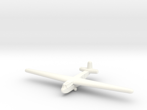 DFS-230 Glider-1/285 Scale- (Qty.1) Germany in White Strong & Flexible Polished