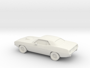 1/87 1971 Plymouth Baracuda in White Strong & Flexible