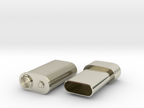 Spy lighter in 14k White Gold